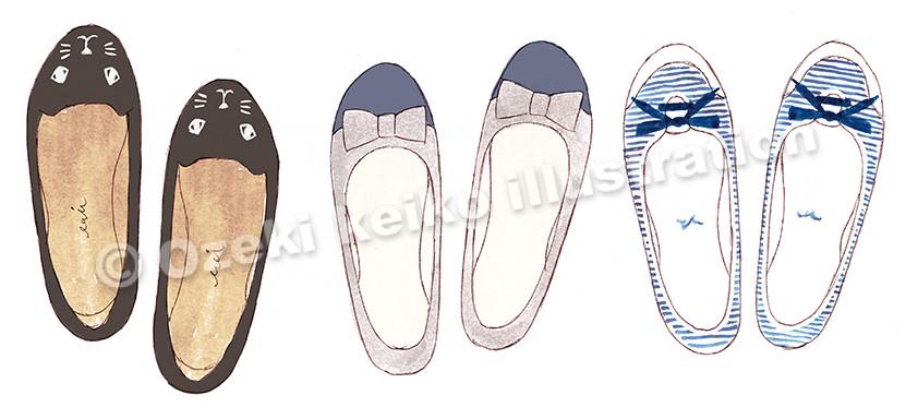 可愛い靴イラスト
